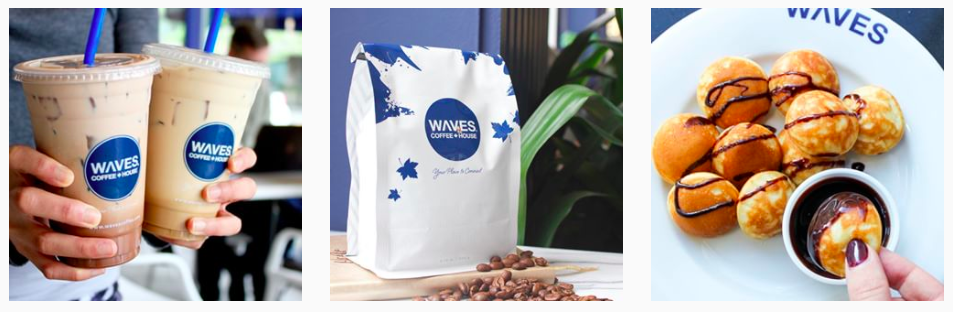 social media client feature waves coffee - legendary social media vancouver
