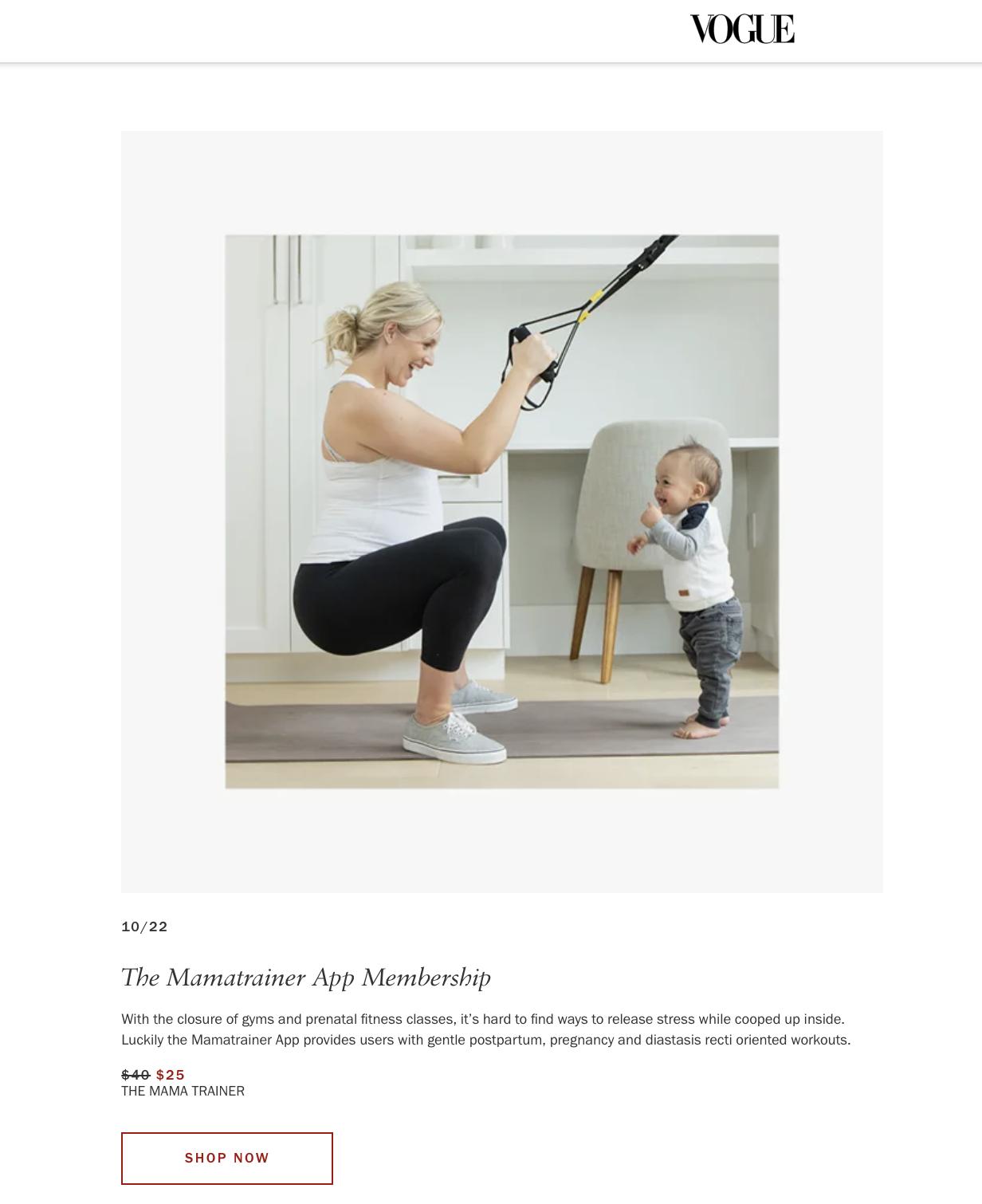 mamatrainer-app- legendary social media vancouver