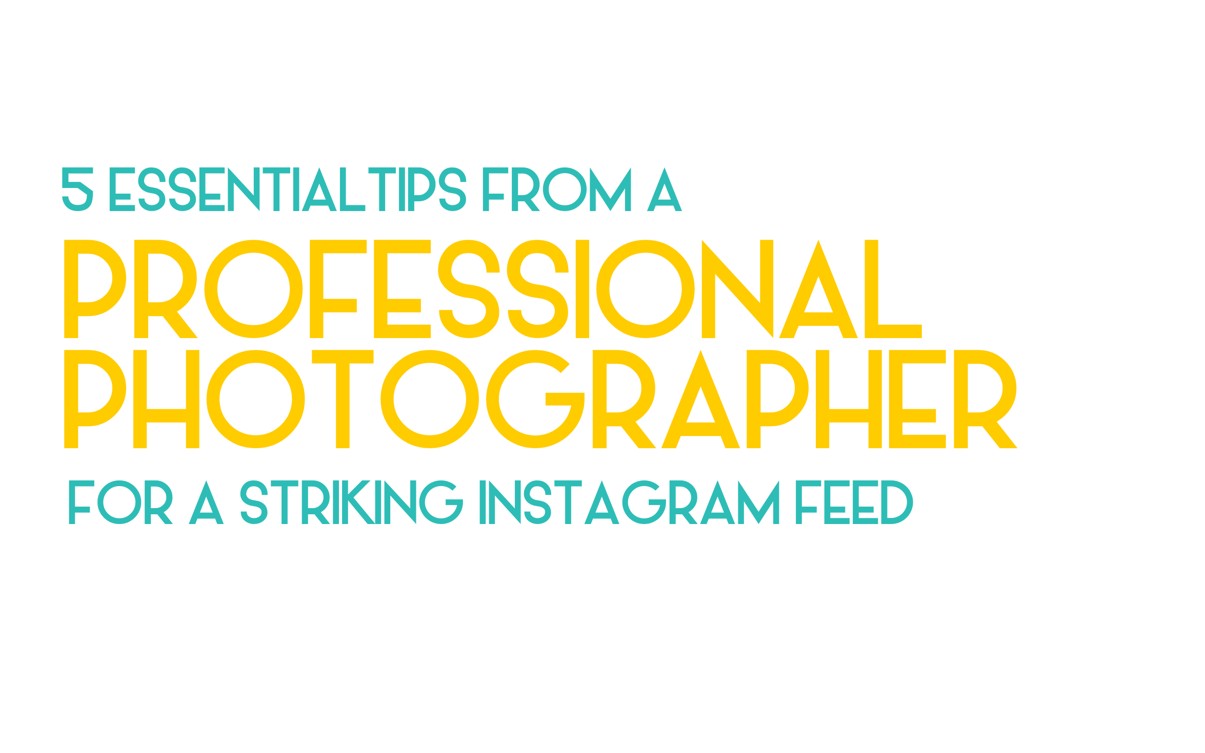 5 essential tips from a professional social media photographer