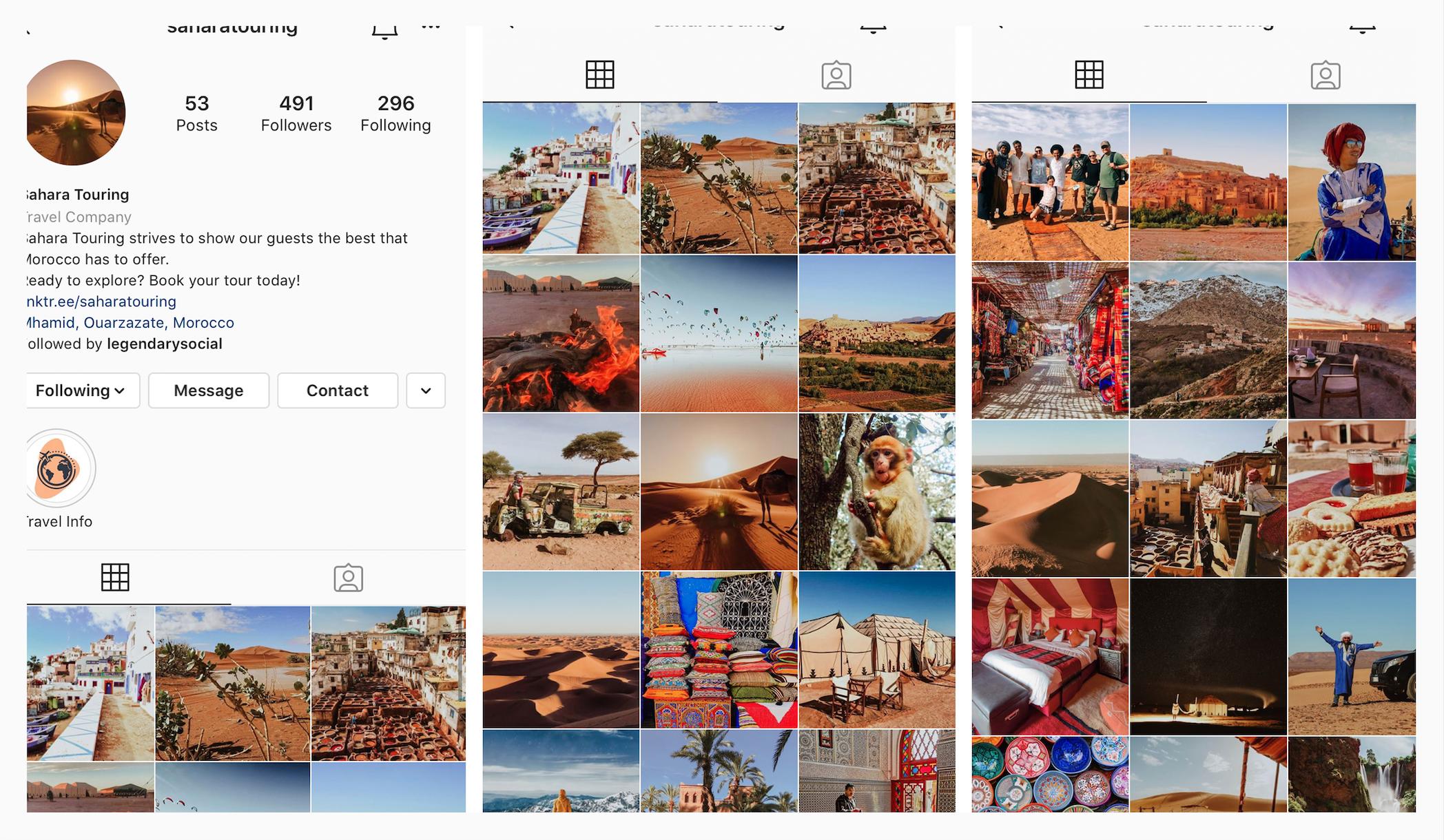 client feature sahara touring - legendary social media vancouver
