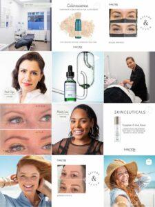 Halcyon Cosmetic Instagram - Legendary Social Media Vancouver